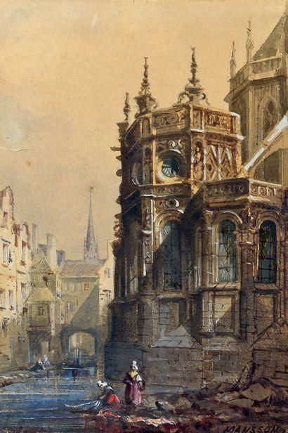 Théodore Henri MANSSON (Rouen 1811 - Bruxelles 1850)