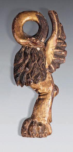 Bois sculpté décoratif en forme d'animal...