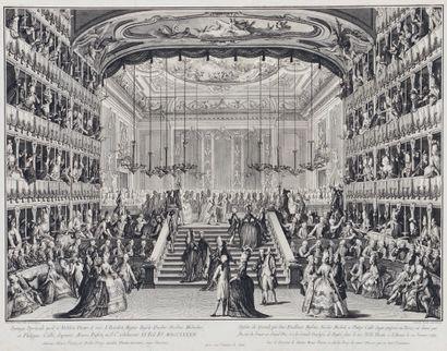 Giovanni Antonio CANALETTO (1697-1768) d'après Celebration in honour of the Grand...