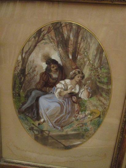 Ch. Théodore SAUVAGEOT (Paris 1826 - Fontainebleau 1883)