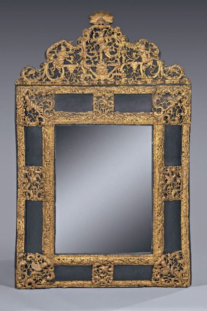 Mercury mirror in an inverted profile frame...