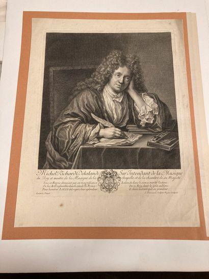 Henri-Simon THOMASSIN (188?-1741) Michel Richard Delalande, Superintendent of the...