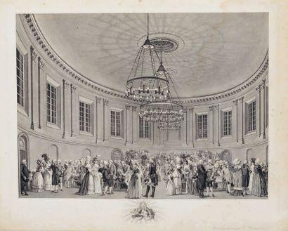 Reinier VINKELES (1741-1816) et Van der MEER Concert Hall in the Felix Meritis Society...