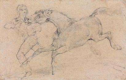 Attribué à Théodore Géricault (1791-1824)