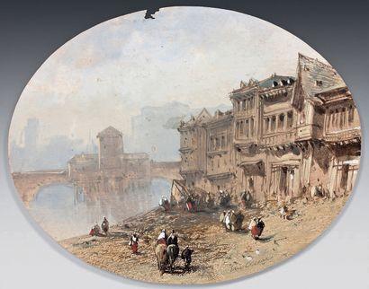 Eugène CICERI (Paris 1813 - Bourron Marlotte 1890)