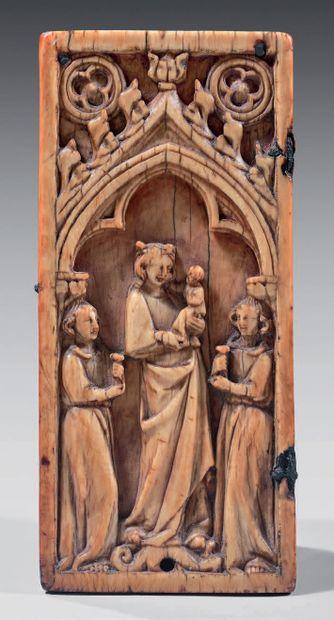 NORD de la FRANCE ou Région MOSANE, XIVe siècle