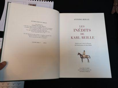 Antoine REILLE. Les inédits de Karl REILLE. Préfacé par le duc de Brissac. 308 illustrations...