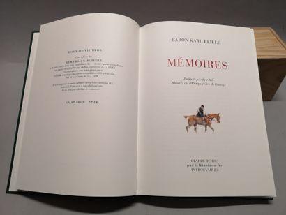 Baron Karl REILLE. Mémoires. Préfacées par Éric Joly, illustrées de 105 aquarelles...