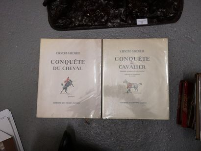 Y. BENOIST GIRONIERE. - Conquête du cavalier....