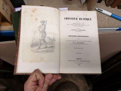 Adolphe d'HOUDETOT, Le chasseur rustique,...