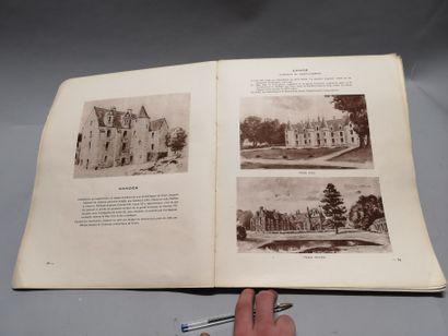 Baron Karl REILLE. Deux cents châteaux et gentilhommières d'Indre et Loire. Tours,...