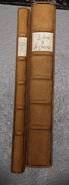 Gaston PHOEBUS, Le livre de la chasse. Fac...