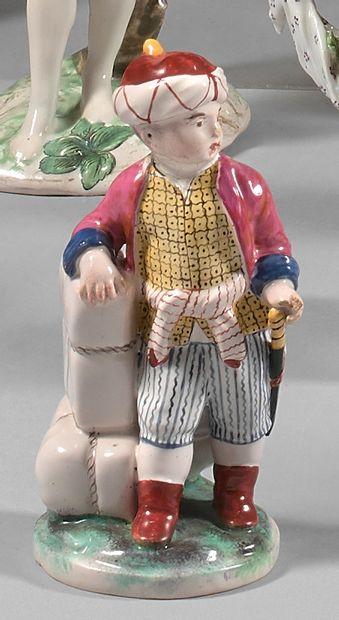 Petite statuette en faïence de Niderviller...