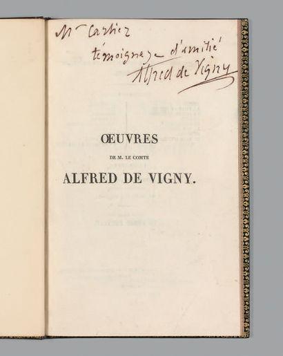 VIGNY (Alfred de).