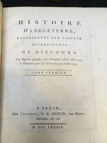 [ANGLETERRE]. DAVID (François Anne).