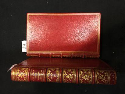 SÉVIGNÉ (Marie de Rabutin, marquise de). Lettres ]...] a Madame la Comtesse de Grignan...