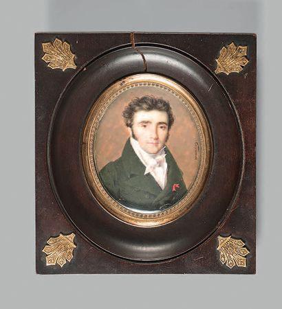 André-Léon LARUE, dit MANSION (Nancy, 1785 - Paris, après 1834), élève d'Isabey