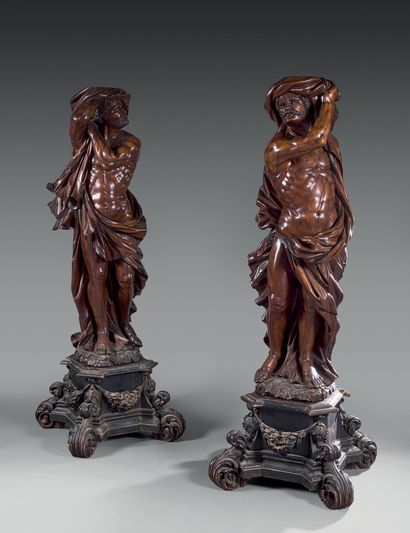 Attribué à Giacomo PIAZZETTA (Pederobba, 1640 - Venise, 1705)