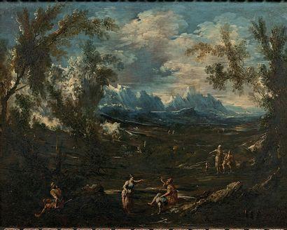 Antonio Francesco PERUZZINI (Ancône, 1643 - Milan, 1724)