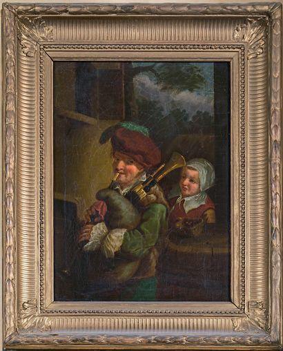 ÉCOLE FLAMANDE du XIXe siècle, d'après David TENIERS