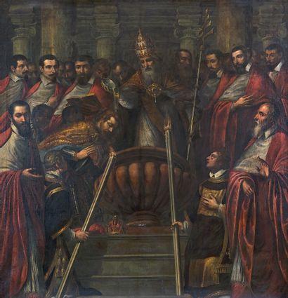 Attribué à Andrea MICHIELI dit il VICENTINO (1539/42 - vers 1617)