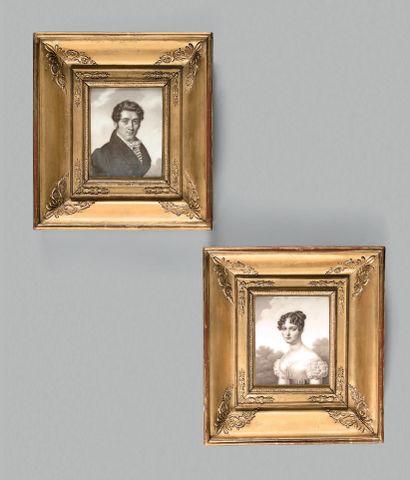Madame LE ROY, école française du début du XIXe siècle