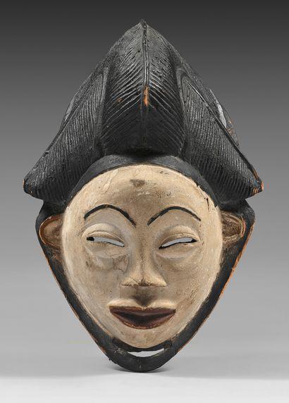 Masque Punu/Lumbo (Gabon) Masque okuyi/mukuyi...