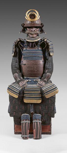 Armure Japonaise de type YOKOHAGI-NIMAÏ-DÔ...