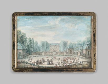 Henri Joseph VAN BLARENBERGHE (1750-1826), dans le goût de