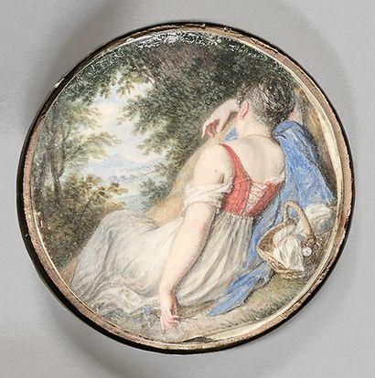 Jean-Baptiste ISABEY (Nancy, 1767 - Paris, 1855)