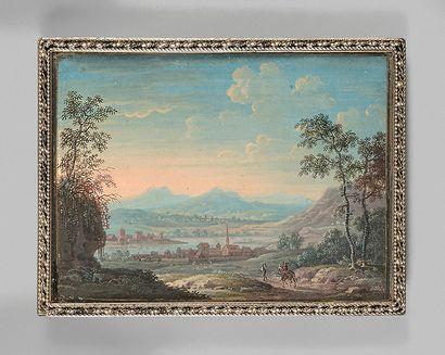 Louis-Nicolas VAN BLARENBERGHE (Lille, 1716 - Fontainebleau, 1794) ou son fils Henri-Joseph VAN BLARENBERGHE (1750-1826)