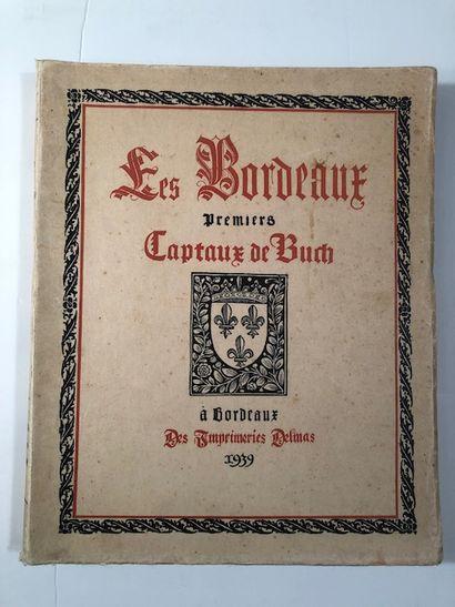 Les Bordeaux Premiers Captaux de Buch - à...
