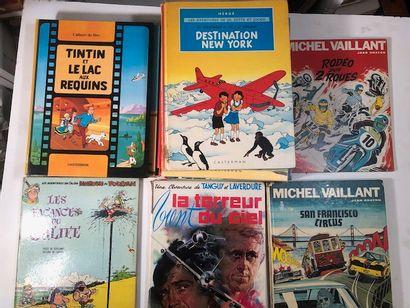 Hergé Tintin x 16 Casterman - Les Vacances...