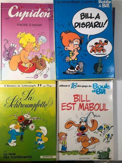 BDx15 Boule et Bill x 9 - Schtroumpf x 3...