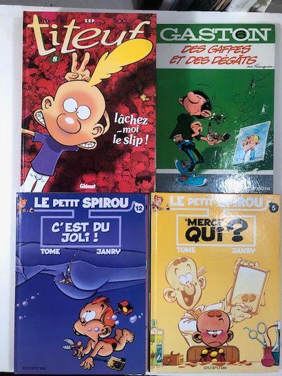 BD x 15 5 Franklin, Gaston - Le petit Spirou...