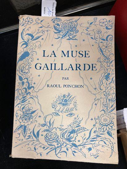 - Raoul PONCHON, La Muse Gaillarde, illustration...