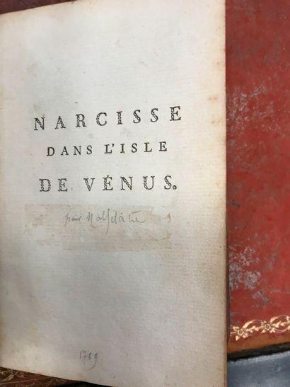 MALIFRATE – Narcisse dans l'isle de Vénus,...