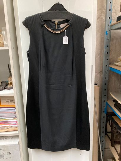Veste noire col velours  WOLFORD Robe noire velours Taille L  Georges Rech Robe...