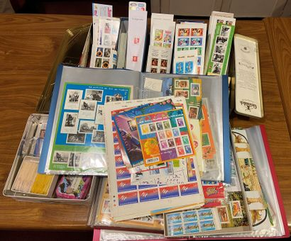 France MODERNE: Important lot de timbres...
