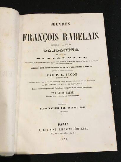 [DORÉ]. RABELAIS (François).