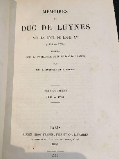 [LUYNES (Charles Philippe d'ALBERT, duc de)].