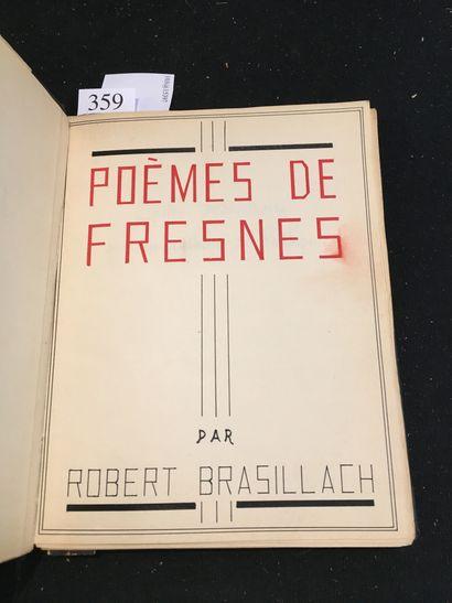 BRASILLACH (Robert).