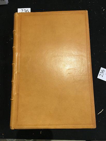 [BIBLIOPHILY]. LONCHAMP (Frédéric-Charles). Manuel du bibliophile français (1470-1920)....