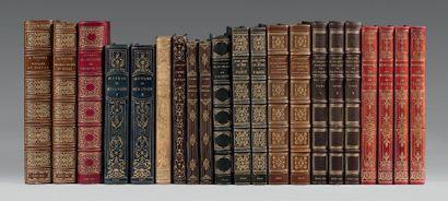 BERANGER (Pierre Jean de). Oeuvres complètes .Paris, Perrotin, Éditeur, 1847. 2 volumes...