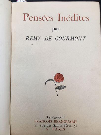 GOURMONT (Rémy de).