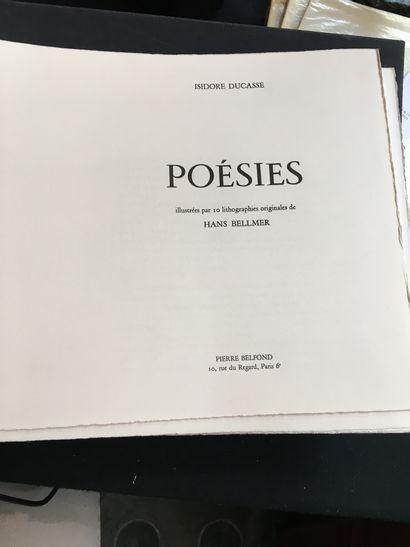 CURIOSA]. DUCASSE (Isidore) [alias LAUTRÉAMONT]. Poetry. Paris, Pierre Belfond,...
