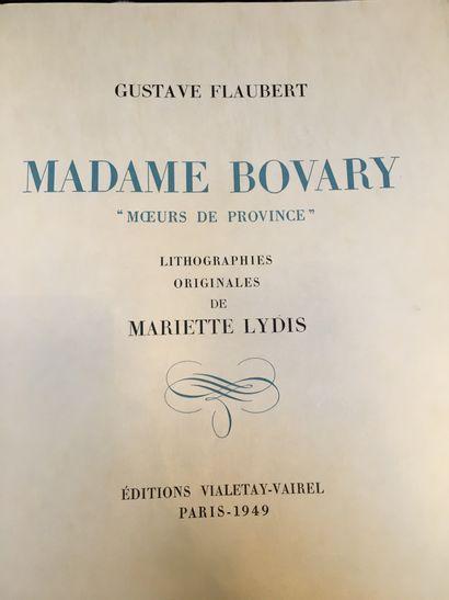 FLAUBERT (Gustave).
