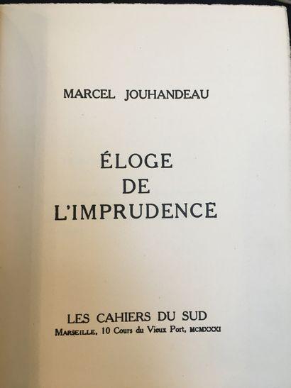JOUHANDEAU (Marcel).