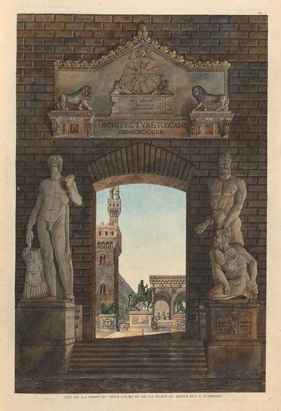 [ITALIE / ARCHITECTURE]. GRANDJEAN DE MONTIGNY...