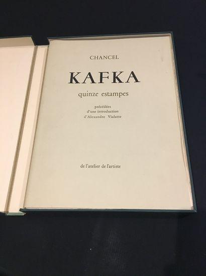[KAFKA & CHANCEL]. CHANCEL (Roger). Kafka....